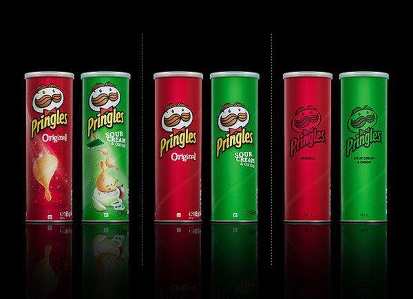Embalagens Pringles
